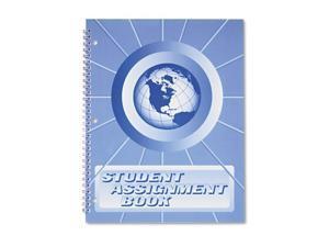 ward sa98 student assignment book, 40 weeks, 11 x 8-1/2, laminated cover (hubsa98)