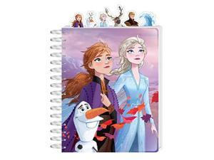 disney frozen 2 from journal for kids writing notebook spiral ruled with tabs