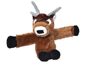 "wild republic huggers, reindeer plush toy, slap bracelet, stuffed animal, kids toys, 8"""
