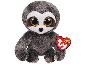ty beanie boos dangler - grey sloth reg