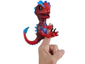 wowwee untamed radioactive raptor - gamma (red) - interactive toy