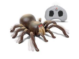 discovery kids rc moving tarantula spider, wireless remote control toy for kids, great for pranks and halloween decorations, re