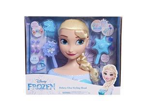 disney frozen elsa deluxe styling head