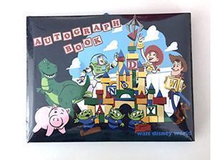 disney parks toy story pixar autograph book