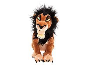 disney scar plush - the lion king - medium - 14''