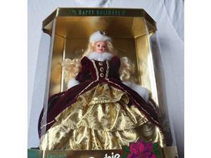 mattel happy holidays barbie christmas 1996