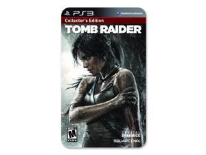 tomb raider survival/collector's edition - playstation 3