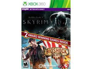 the elder scrolls: v skyrim / bioshock infinite - xbox 360