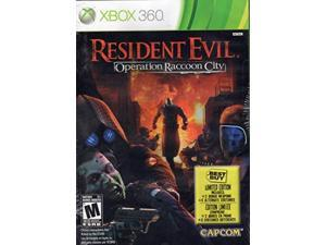 resident evil: operation raccoon city best buy limited edition - xbox 360