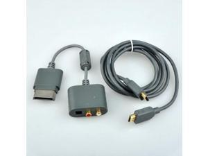 new optical audio adapter for microsoft xbox 360 hdmi av cable
