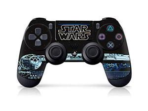 """controller gear authentic and officially licensed star wars legacy games - ps4 controller skin """"millennium falcon"""" - playstatio"""