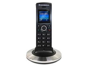 sangoma d10m dect cordless extra handset w charger (requires dc201 base)