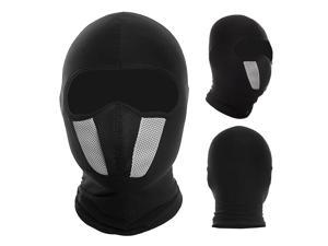 WOSAWE Windproof Dustproof Cycling Motorcycle Full Face Mask Balaclava Hood Helmet Liner for Outdoor Sports