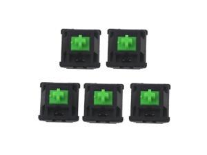 5Pcs Greetech Green Switches Axis for Razer Gaming Mechanical Keyboard for Cherry MX 3pin Switch