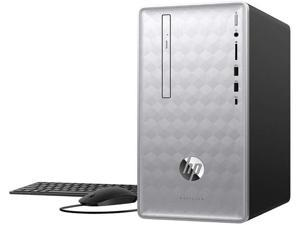2019 HP Pavilion 590 Desktop Computer, 8th Gen Intel Hexa-Core i5-8400 up to 4.0GHz, 8GB DDR4 RAM, 1TB 7200RPM HDD, DVDRW, GeForce GTX 1050 2GB, WiFi 802.11ac, Bluetooth 4.2, Windows 10