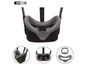 Devansi VR Eye Silicone Cover & Eye Pad for Oculus Quest Eye Cushion Cover Sweatproof Lightproof