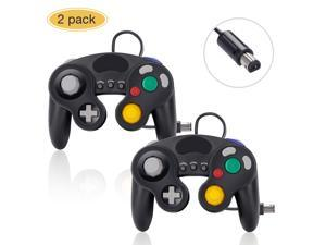Controller for Nintendo Switch Gamecube, 2 Pack Wired Classic Game Cube NGC Controllers Compatible with Wii U, for use with Ultimate Super Smash Bros