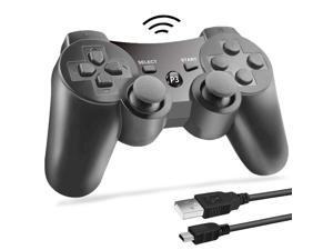 PS3 Wireless Controller Bluetooth Gamepad Remote Controller for Playstation 3 PS3 with Dualshock Six Axis&Charging Cable