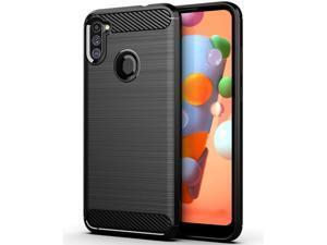 Galaxy A11 Case, Samsung A11 Case, Slim Soft TPU Anti-Fingerprint,Anti-Scratch & Non-Slip Protective Phone Case Cover for Samsung Galaxy A11 (Black)