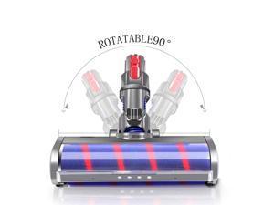 Soft Roller Cleaner Head Compatible with Dyson V11 V10 V8 V7 Cordless Stick Vacuum Cleaner, Hardwood Floor Attachment