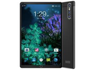 """#Free 128GB Memory Card#Smart Tab S16 FHD Plus (16nd Gen) with Alexa Built-in MTK 1.3 GHz 2 GB Memory 32 GB HD 4x 8.0"""" 1280 x 800 Tablet PC Android 10.0 (Pie) Platinum Black"""