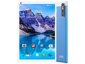 """#Free 128GB Memory Card#Smart Tab S16 FHD Plus (16nd Gen) with Alexa Built-in MTK 1.3 GHz 2 GB Memory 32 GB HD 4x 8.0"""" 1280 x 800 Tablet PC Android 10.0 (Pie) Platinum Blue"""