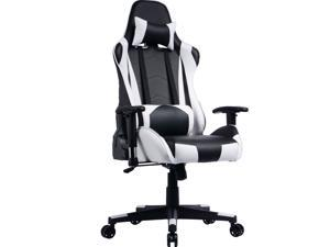 Prime Selection Products Office Gaming Chair; High Back, Reclining Backrest and Adjustable Armrests