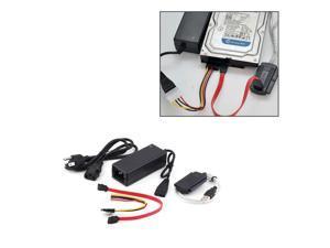 "USB 2.0 to IDE SATA S-ATA 2.5 ""3.5"" HD HDD Hard Drive Adapter Converter + Power Cable OTB US Plug Plug-and-play"