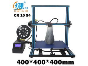 New 3D Printer Creality CR-10 S4 400x400x400mm With Dual Z-axis 0.2kg PLA Filament US Plug