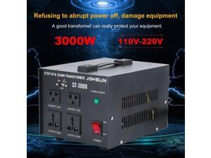 New 110~220V ST-3000W Electrical Power Voltage Converter With USB Step Up Down Transformer For Refrigerator Microwave US Plug