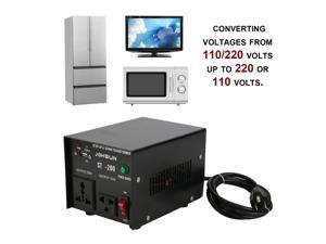NEW ST-200W Home Use 200W Step Up And Down Transformer 110V/220V To 220V/110V Voltage Converter Power Inverter US Plug