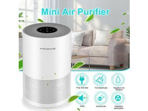 Air Purifier with True HEPA Air Purifiers Filter for Home Allergies and Pets, Smokers, Smoke, Dust, Mold, and Pollen, Air Cleaner for Bedroom, Large Room with Optional Night Light