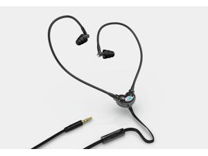 Safe EMF Headset and Anti Radiation Headphones, Protection Earbuds, Earphones with Air Tube Eliminating Electromagnetic Fields