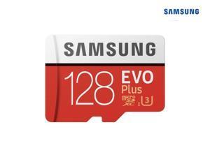 Samsung 128GB EVO Plus Class 10 UHS-I microSDXC U3 with Adapter (MB-MC128GA/EU) Read: up to 100MB/s, Write: up to 90MB/s