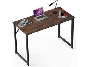 BOSSIN Writing Study Computer 39'' Desk, Home Office Small Work Desk,Modern Simple Rustic Style PC Table Desk for Small Space Home Office