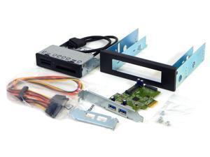 3.5/5.25in Media Card Reader w/ USB3 CNTRL Kit HI343-1U35 3.5 or 5.25 Bay
