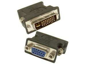 Lot-25 HP DVI-I M to VGA Adapter 612330-003-L25 DVI-I to DB-15 Converter
