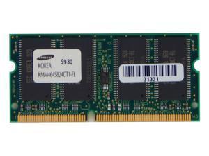 Samsung 64MB PC100 144 Pins SODIMM KMM464S824CT1-FL Laptop Memory 64MB
