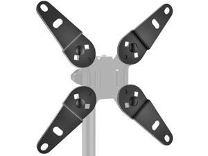 HUANUO Universal Vesa Adapter -Vesa Extender, Monitor Mount Adapter Kit Fits Most 13 to 32 inch, Convert Vesa Plate to Reach 200×100 and 200×200
