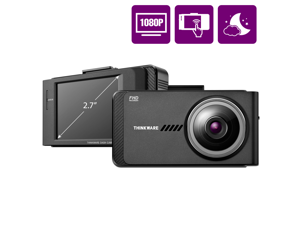 THINKWARE X700 Car Dash Cam 1080P FHD 140°Wide Angle Dashboard Camera Recorder for Cars with G-Sensor, Car Camera w/Sony Sensor, Night Vision, Loop Recording, 32GB, Optional Parking Mode and GPS