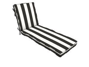 Home Decorators Collection Sunbrella Cabana Classic  Outdoor Chaise Lounge Cushion AH1U380B-D9D1