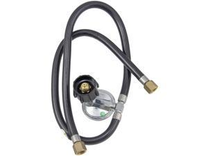(2-Pack) Char Broil Universal Dual Hose and Regulator