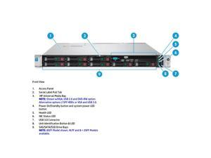 HP DL360 G9 8SFF Server (1U) - E5-2680V4 - Complete Server Package