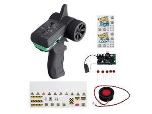 WPL V3 Diesel Version Upgraded Sound System All-in-one Electronics 1/16 RC Car Spare Parts