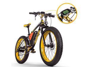 [EU Direct] RICH BIT TOP-022 26'' 48V 17Ah 1000W Electric Mountain Bike 21 Speed  Electric Bike 35km/h Top Speed 60km Mileage Range Max Load 185kg