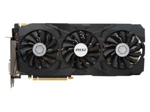 MSI GTX 1080Ti 11G DUKE graphics card
