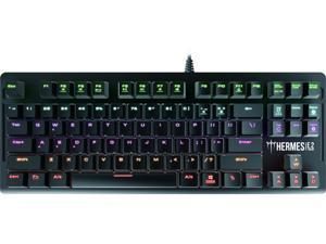 Gamdias Hermes E2 Mechanical Gaming Keyboard with Brown Switches, 87TKL