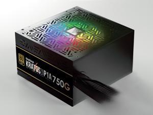 GAMDIAS Kratos P1A-750W Gold RGB Motherboard Sync Power Supply