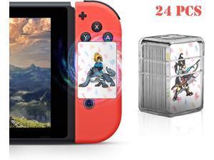 zelda card,24 pcs NFC Cards for The Legend of Zelda Breath of The Wild Botw Switch Wii U