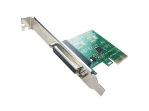 PCIE to 1 Port DB25 LPT Parallel Expansion Card with Low-Profile Bracket(PCI-E IP)
